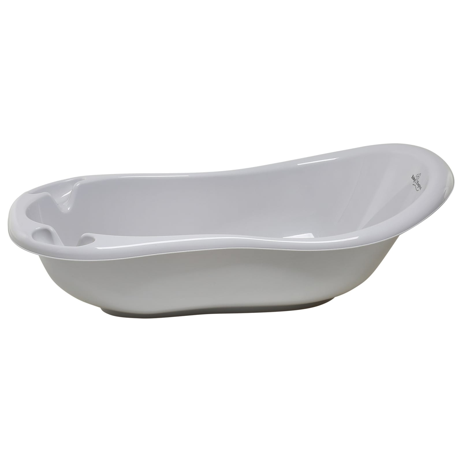 100cm Bath with stopper – Grey product image