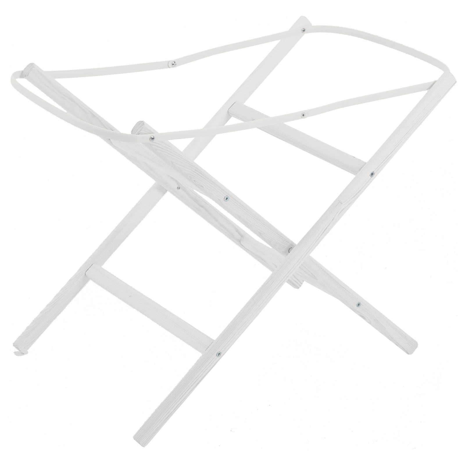 Moses Basket Stand – White product image