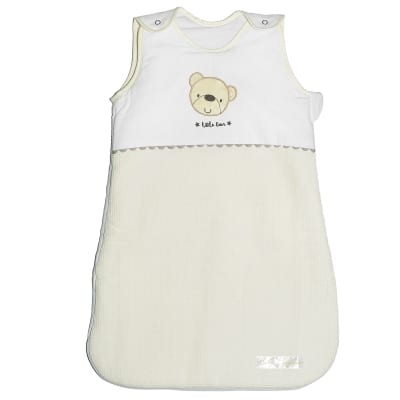 Star Ted Snuggle Pouch 0-6m - Cream