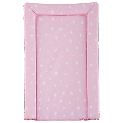 PVC Baby Changing Mat - Pink Star
