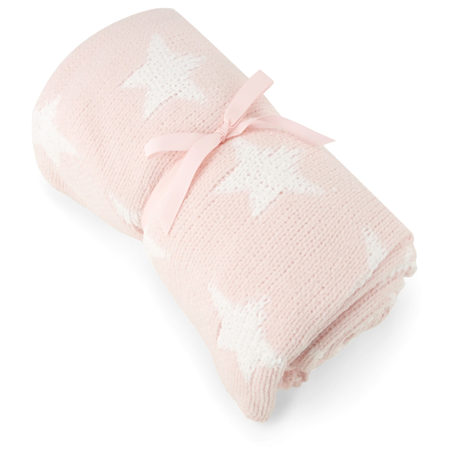 Chenille Blanket – Pink Star product image