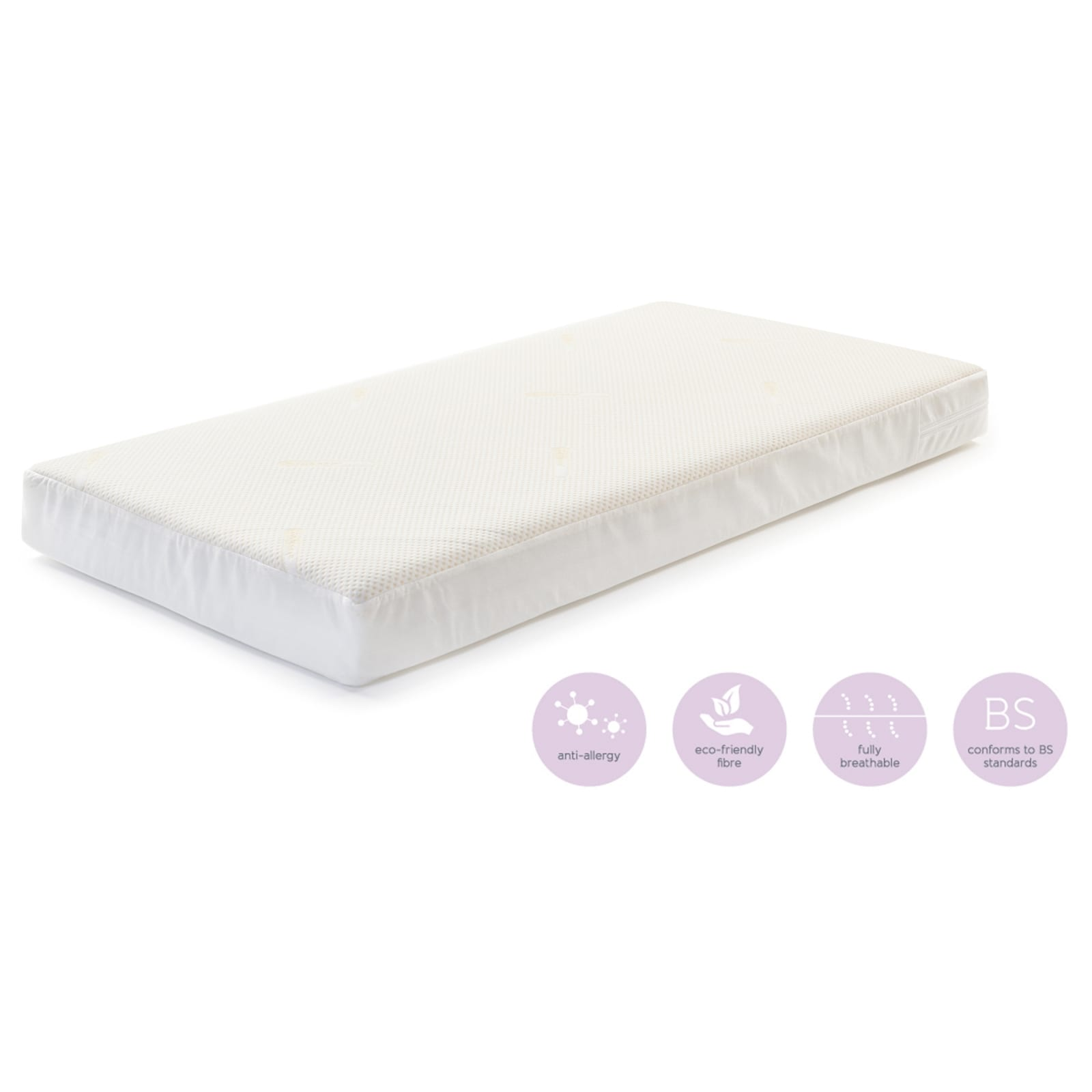 CoolMax Pocket Spring Mattress – Cot – 60x120x10cm product image