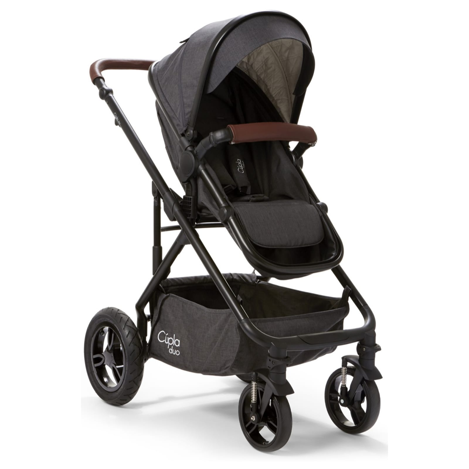 Cupla Duo 2 in 1 Travel System – Charcoal product image