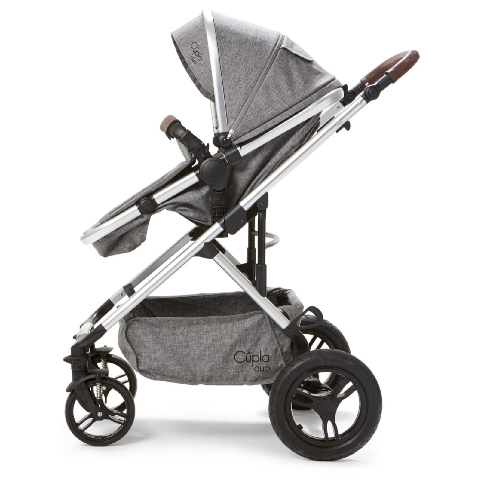 Cupla Duo 2 in 1 Pushchair –  Grey product image