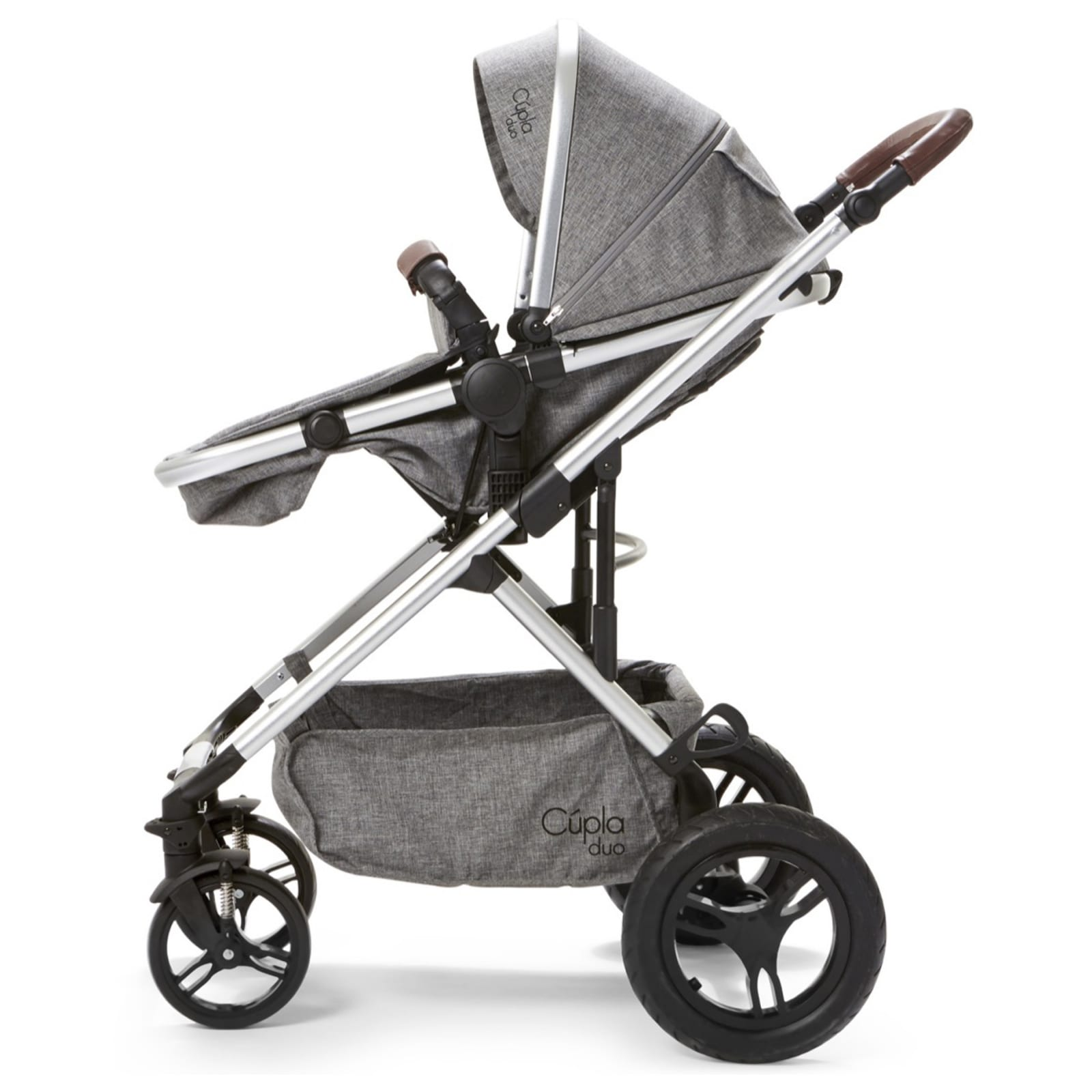 Cupla Duo 2 in 1 Travel System – Grey product image