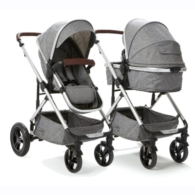 Cupla Duo 2 in 1 Pushchair -  Grey