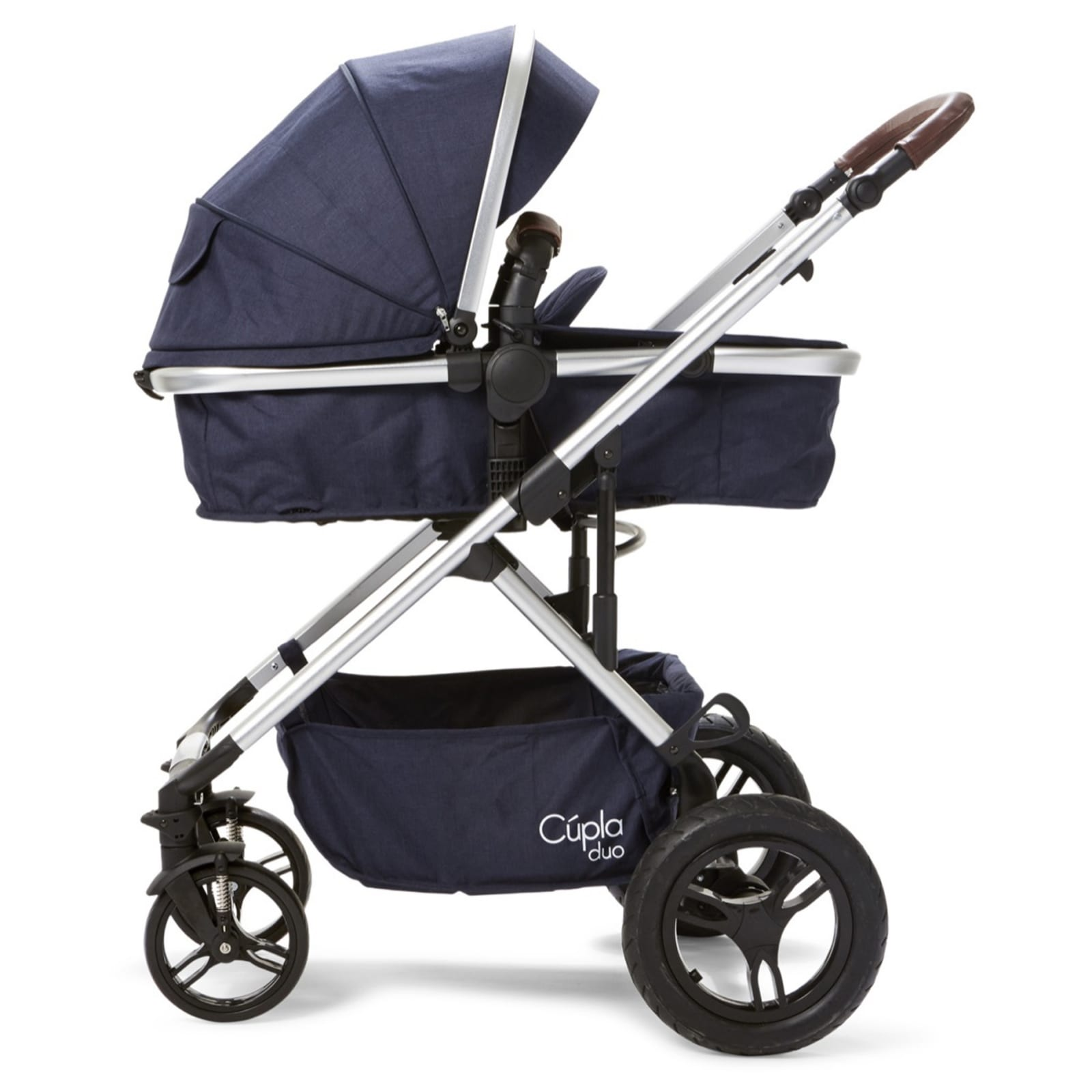 Cupla Duo 2 in 1 Pushchair – Navy product image