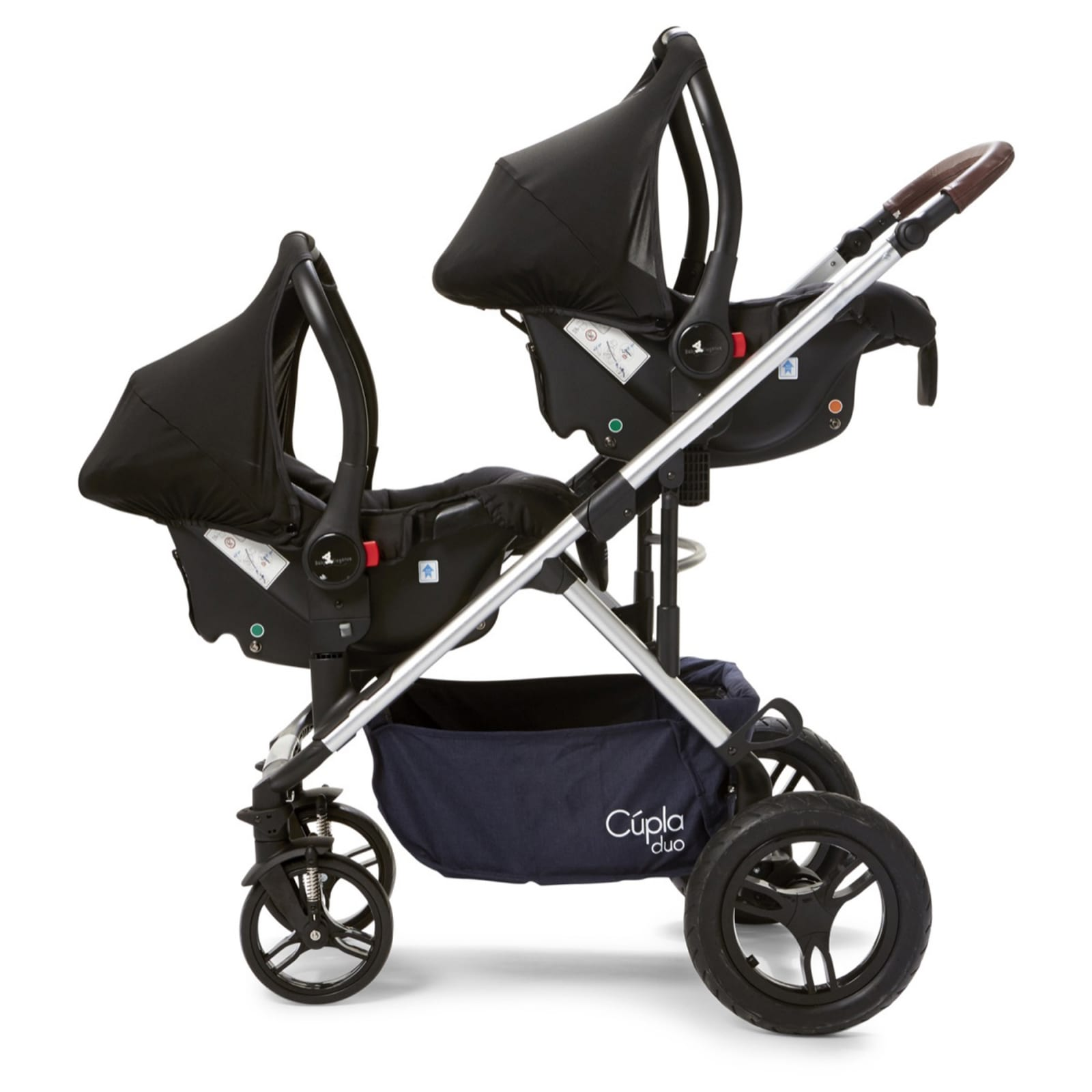 Cupla Duo Twin Travel System – Navy product image