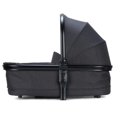 Cupla Duo Carry Cot - Charcoal