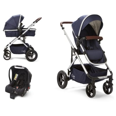 Cupla Duo 2 in 1 Travel System - Navy