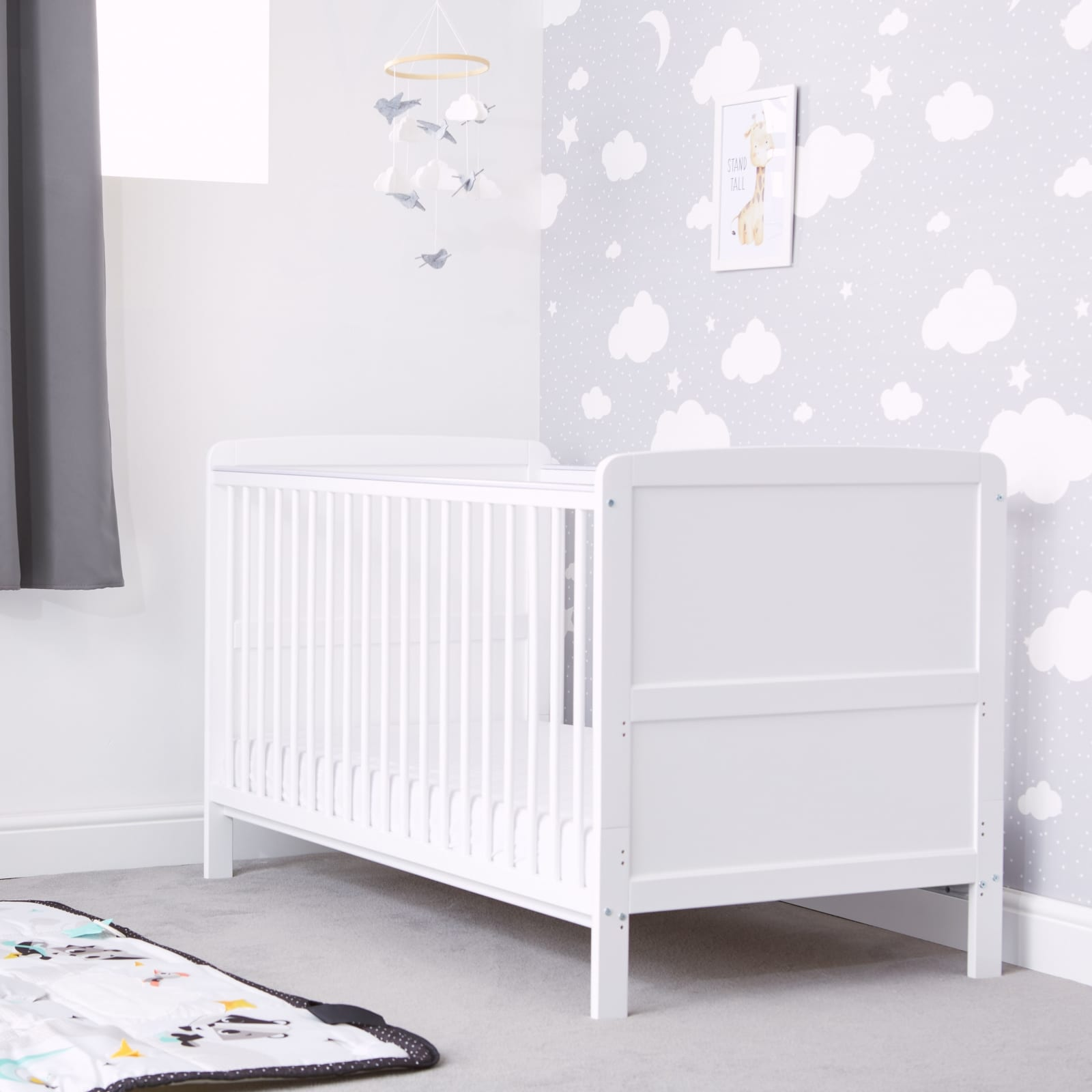 Travis Cot Bed – White product image