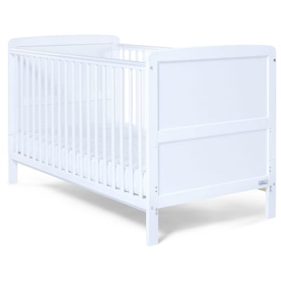 Travis Cot Bed - White
