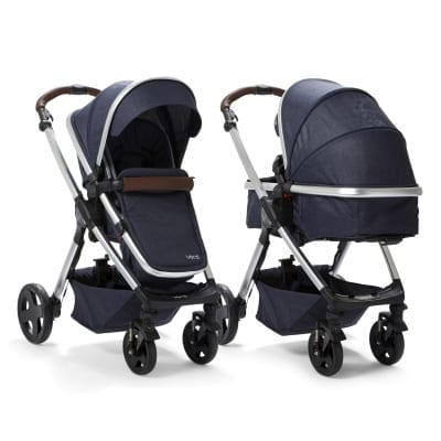 Venti 2 in 1 Pushchair  - Grey