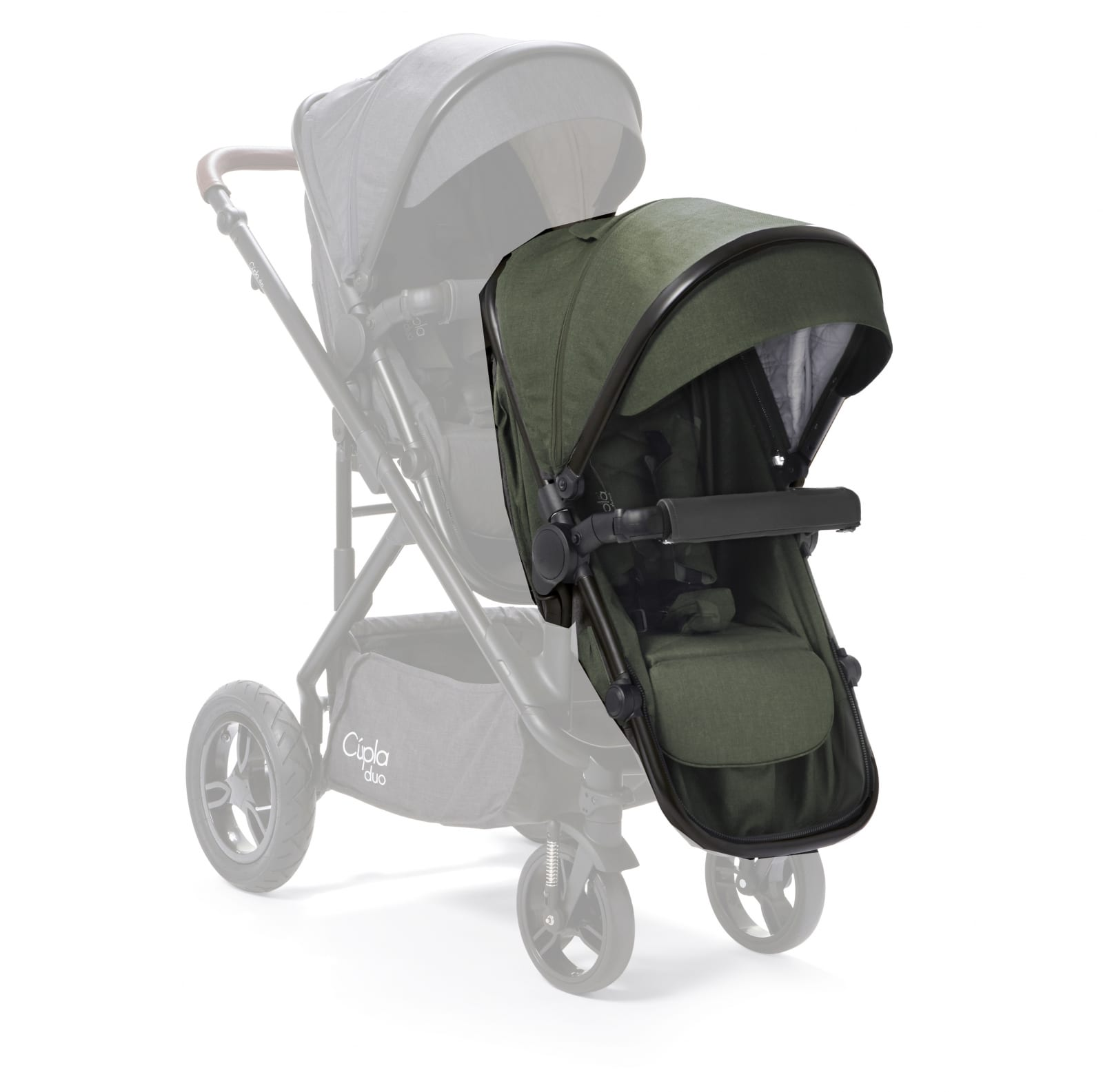 Cupla Duo Second Seat – Forest Green product image