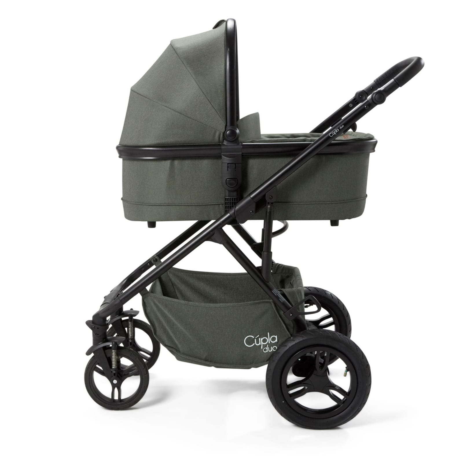 Cupla Duo Carry Cot – Forest Green product image