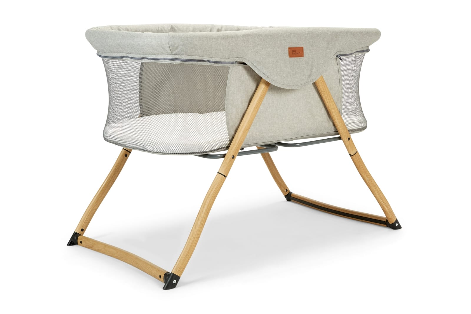 Kangu Foldable Crib – Wood Look product image