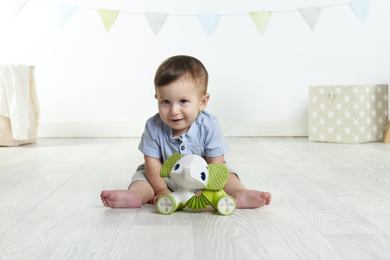 Tiny Love – Rolling Toy Samuel Elephant product image
