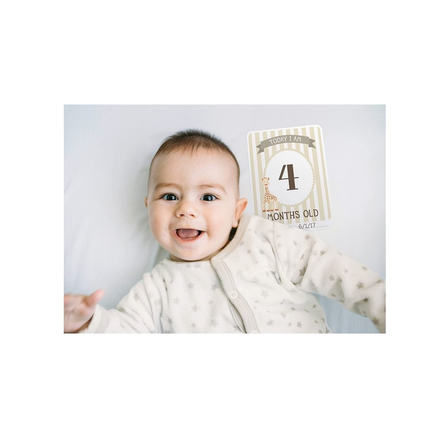 Sophie Giraffe -The Original Baby Cards by Milestone product image