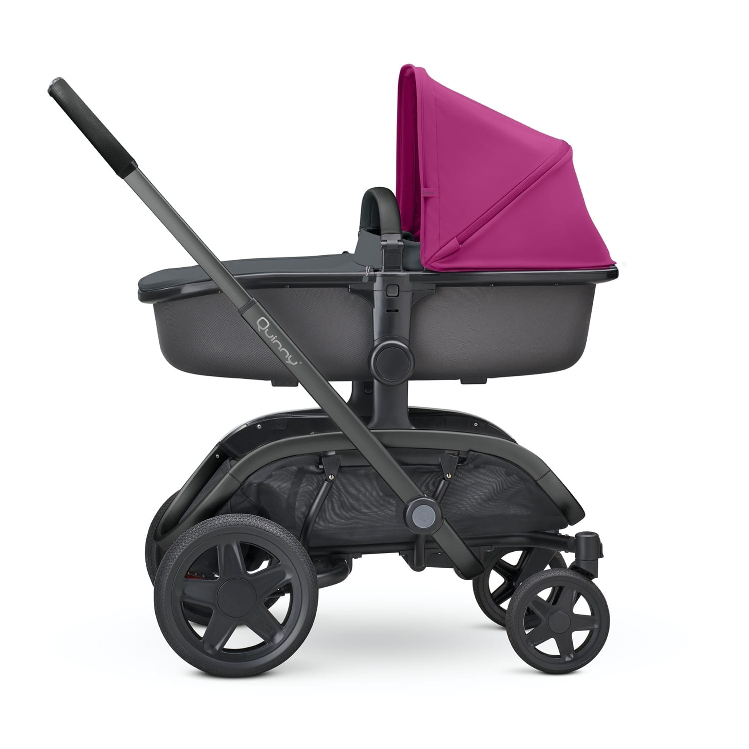 Quinny Hux Carrycot- Graphite on Graphite product image