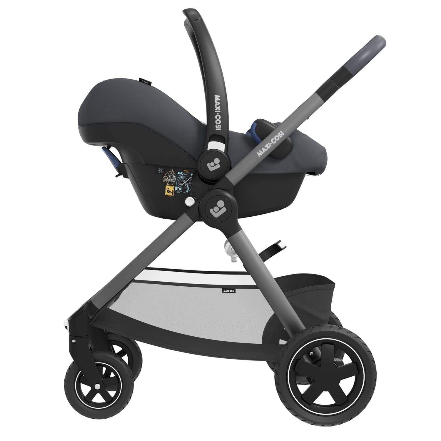 Maxi Cosi Rock i-Size Infant Car Seat- Essential Graphite product image