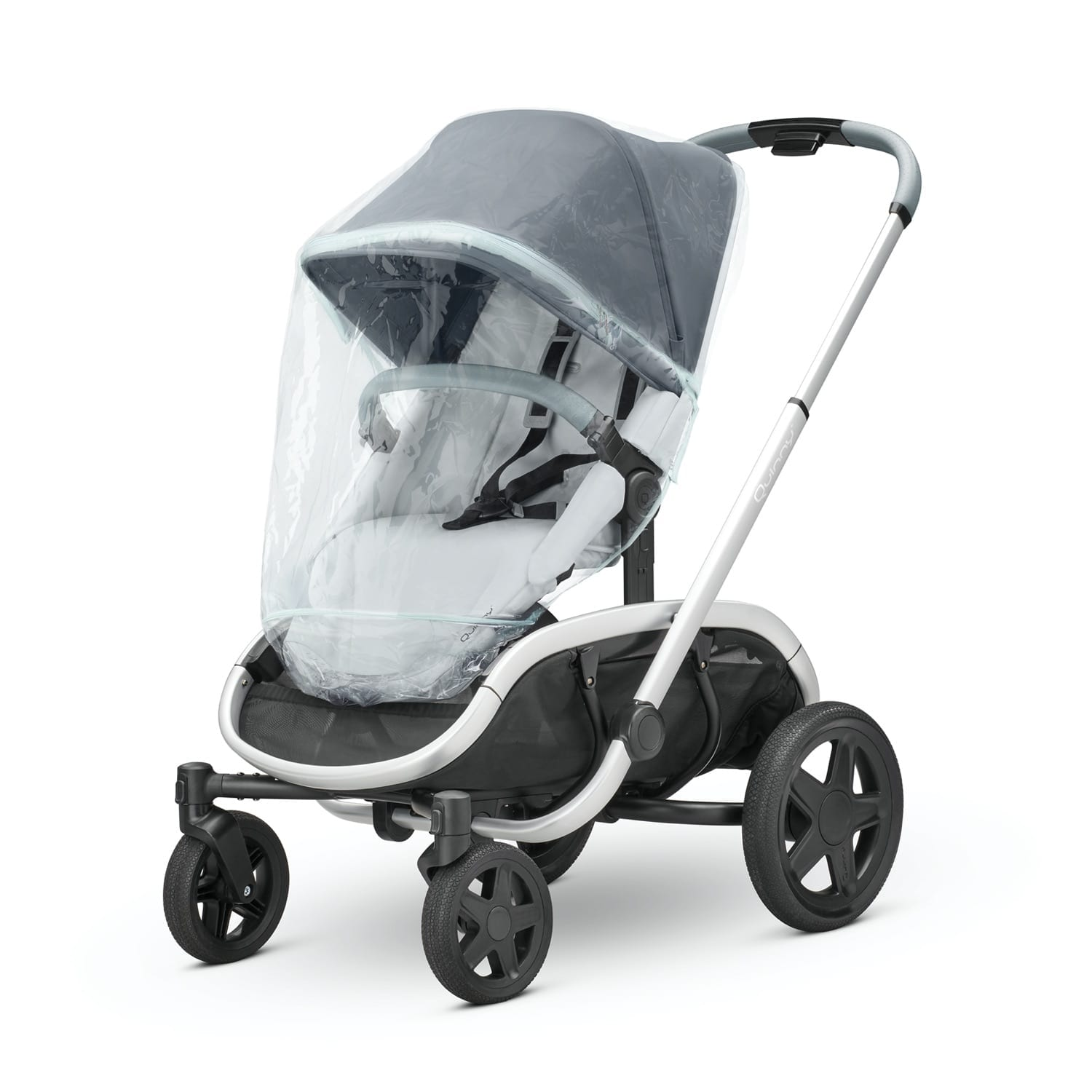 Quinny Hubb/Hux Raincover Frost product image