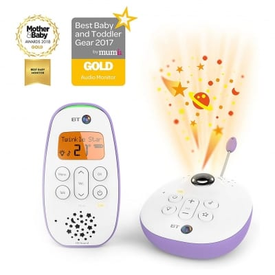 BM450 Audio Baby Monitor Lightshow