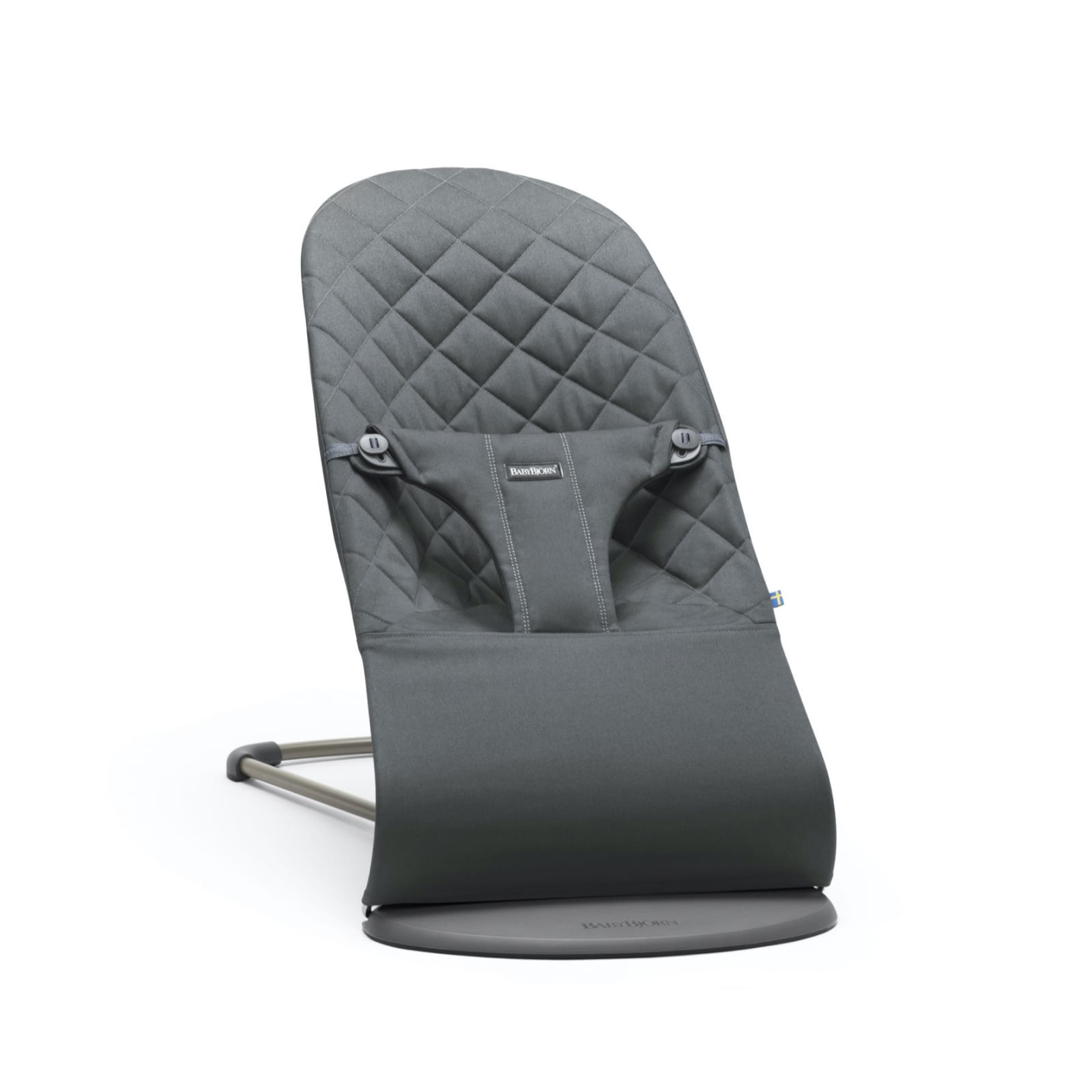 BabyBjorn Bouncer Bliss, Anthracite Cotton product image