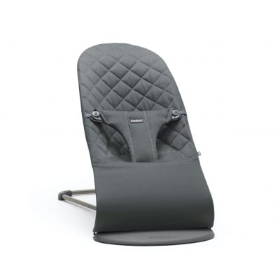 BabyBjorn Bouncer Bliss, Anthracite Cotton