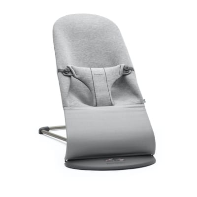 BabyBjorn Bouncer Bliss, 3D Jersey, Light Grey