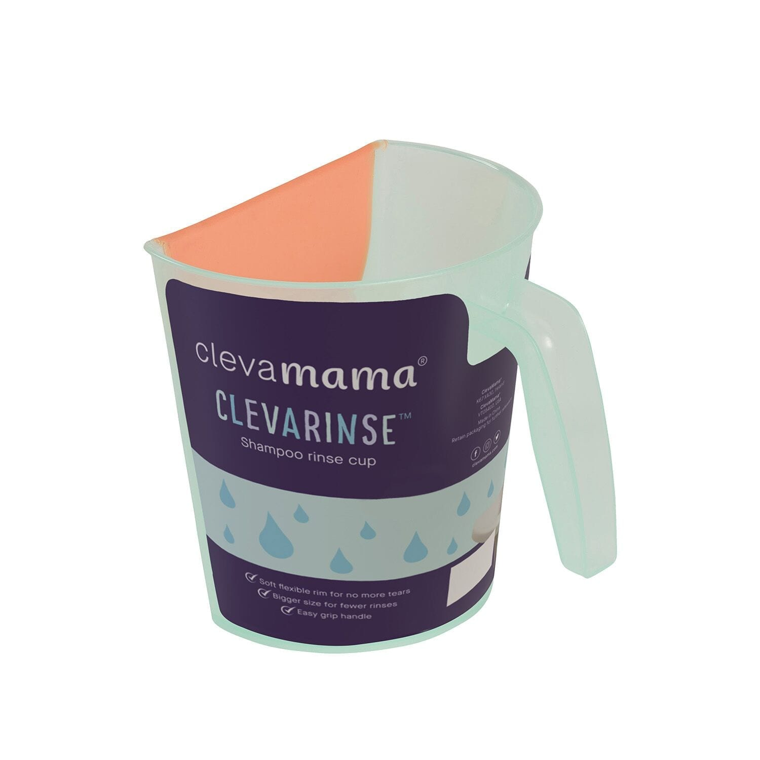 Clevarinse Shampoo Rinse Cup product image