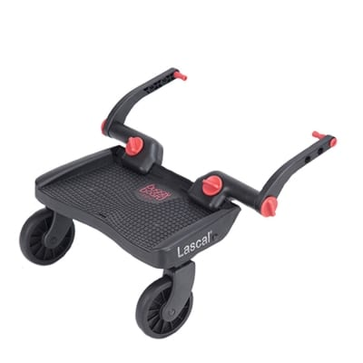 Lascal Mini Buggy Board/3D Red