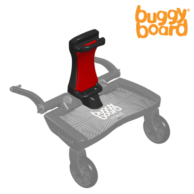 Lascal Buggy Board Saddle/ Red