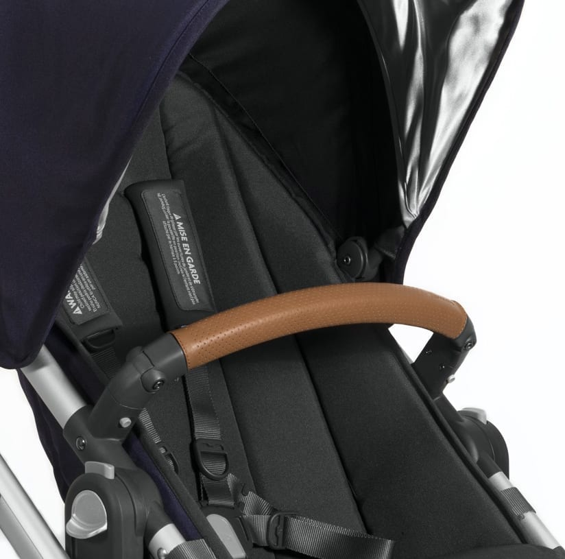UPPAbaby VISTA/CRUZ Leather Bumper Bar Cover – Saddle product image
