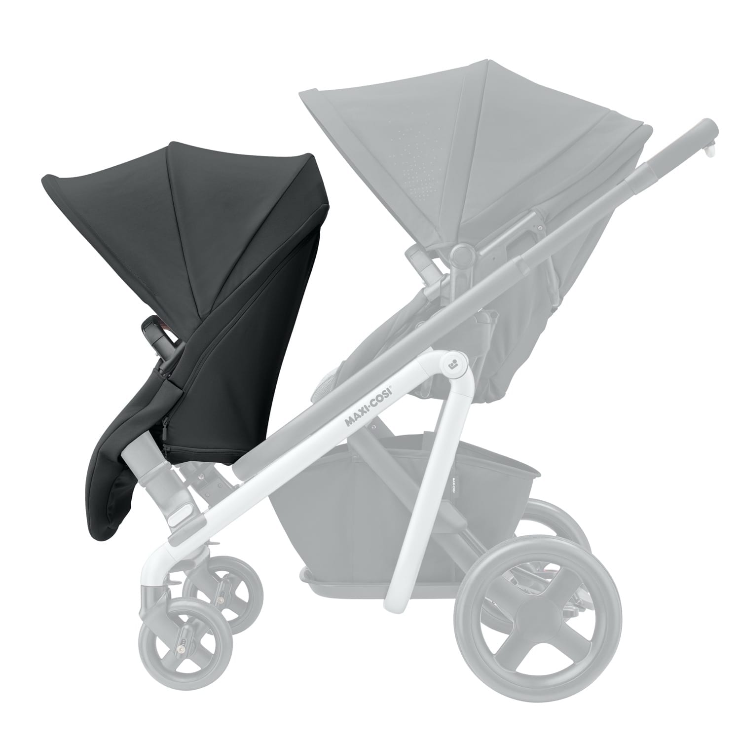 Maxi Cosi Lila Duo Seat Unit – Nomad Black product image