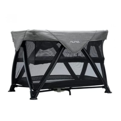 Nuna Sena Aire Travel Cot - Charcoal