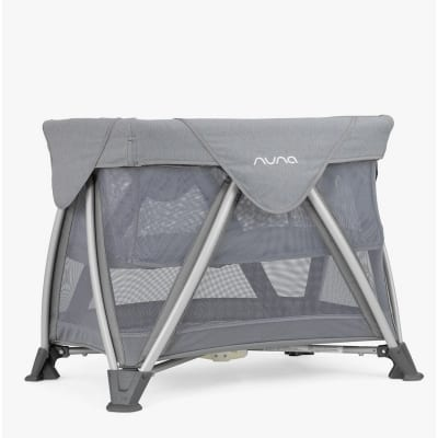 Nuna Sena Aire Travel Cot -  Frost Grey