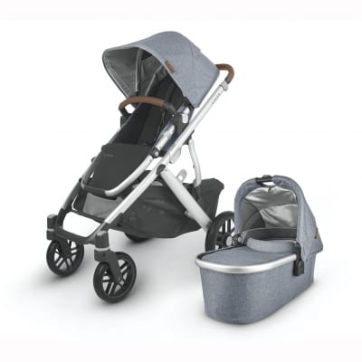UPPABaby VISTA 2 Stroller & Carry Cot  - GREGORY