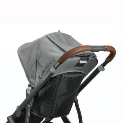 UPPABaby VISTA Leather Handle Bar Cover (saddle)