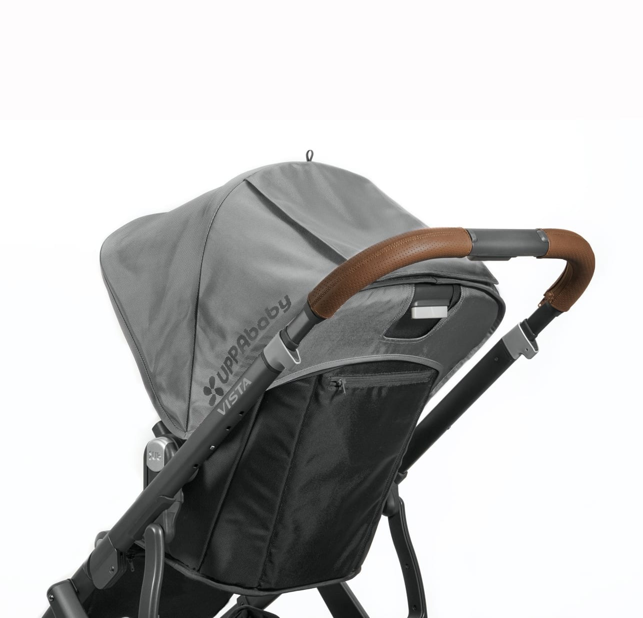 UPPABaby VISTA Leather Handle Bar Cover (saddle) product image