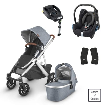 UPPABaby VISTA 2 Bundle with Maxi Cosi CabrioFix & Base