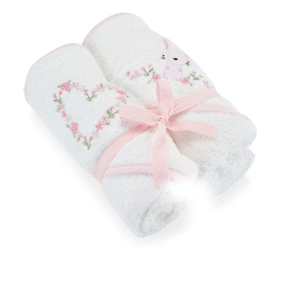 Hooded Towel 2 pack – Pink product image