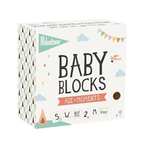 Sophie- Baby Blocks by Milestone product image