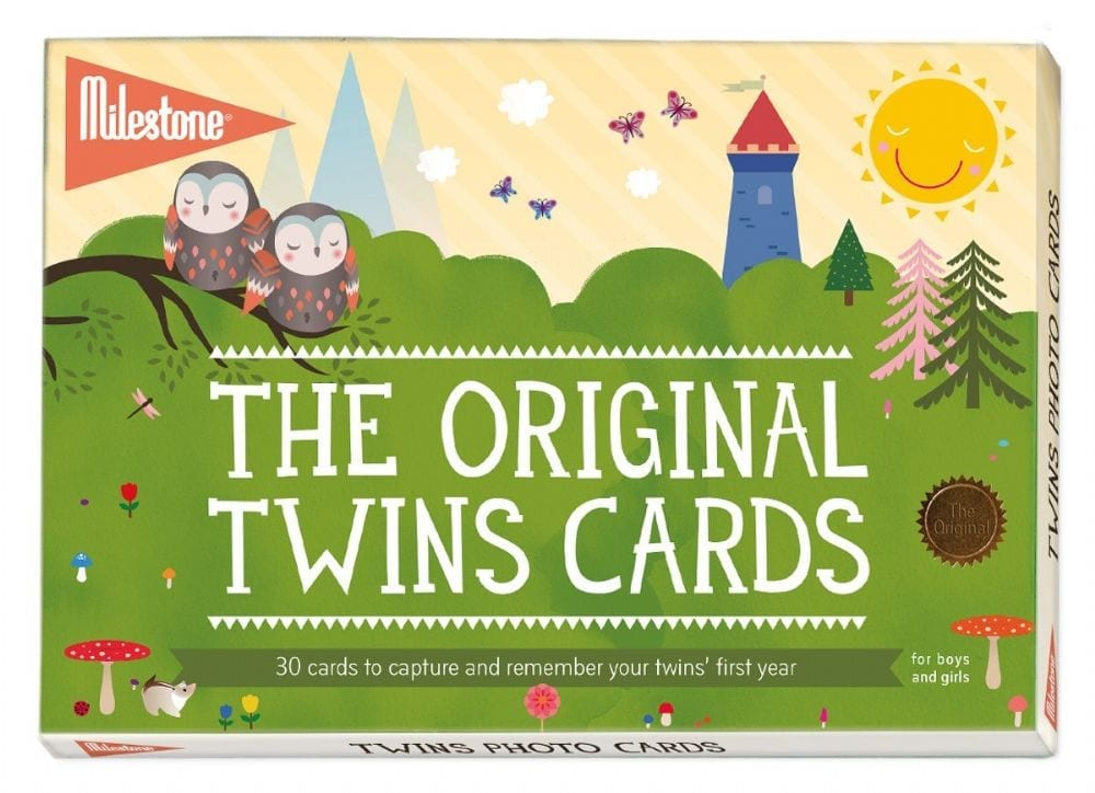 Sophie – Twins Baby Cards by Milestone product image