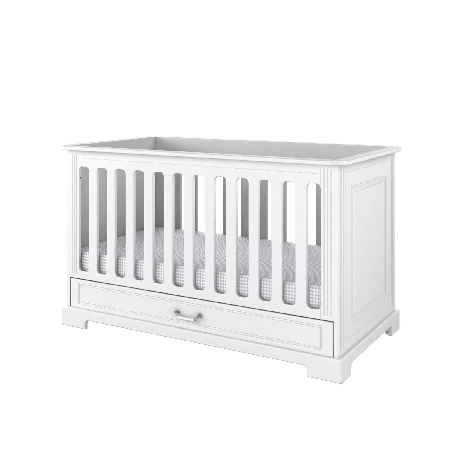 Ines Cot Bed – White product image