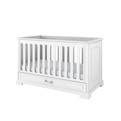 Ines Cot Bed - White