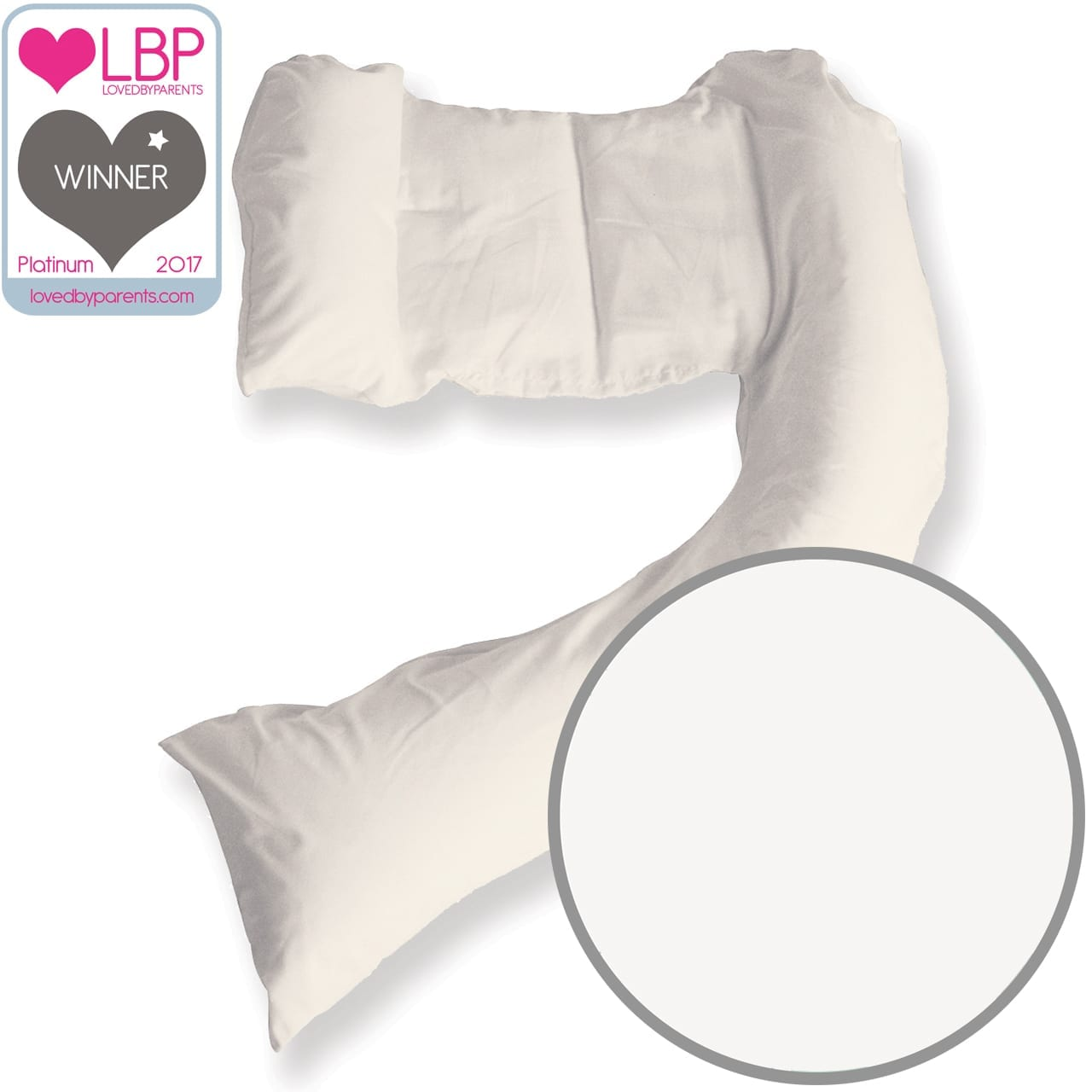 Dreamgenii Pillow – White Cotton product image
