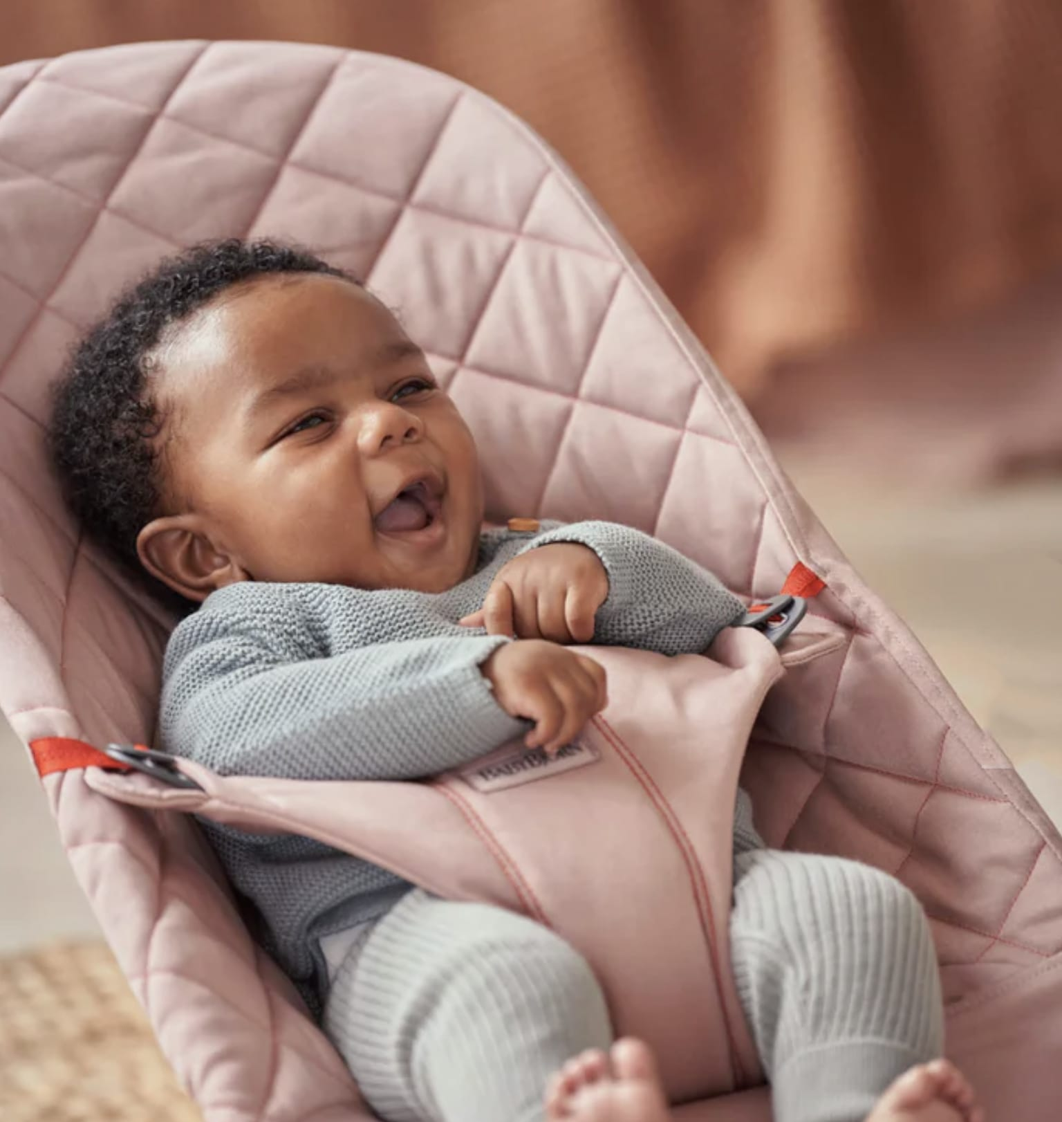 BABYBJÖRN Bouncer Bliss, Cotton Old Rose product image