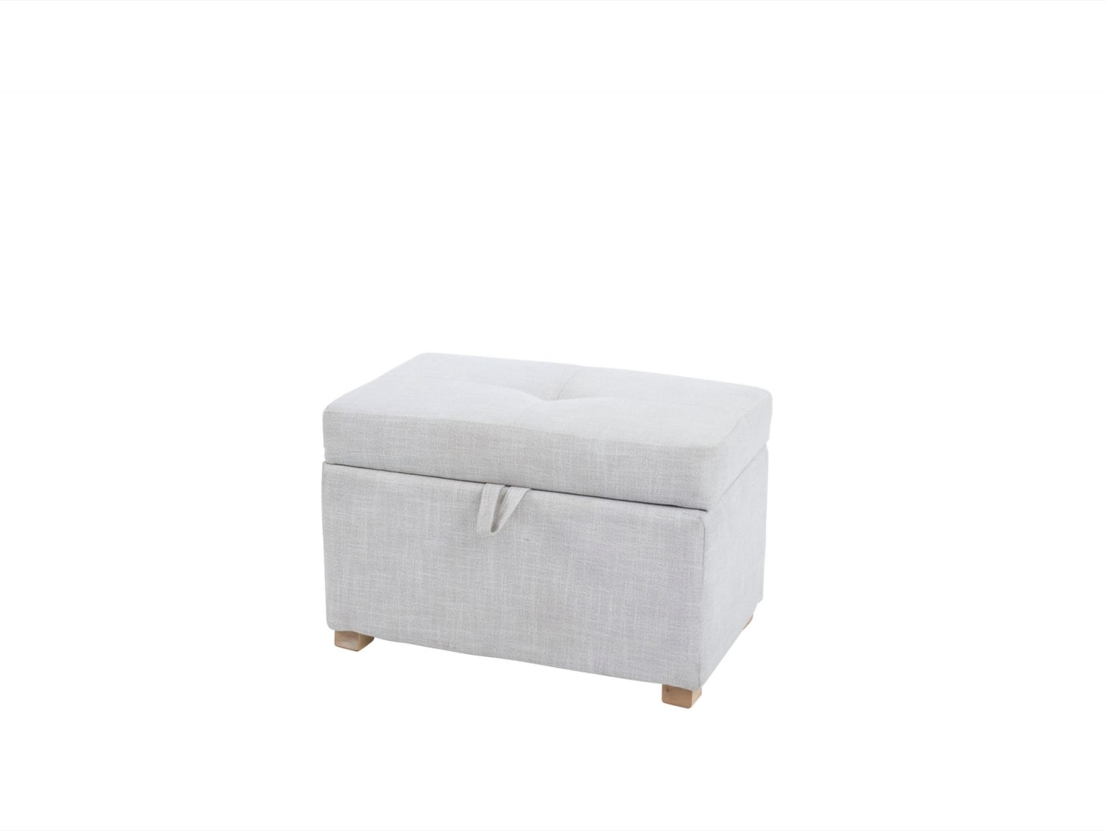 Serena Footstool – Oatmeal product image